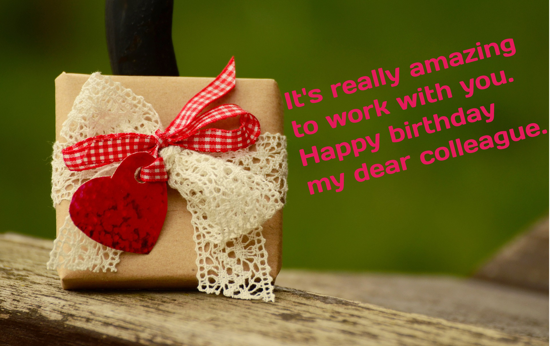 Happy birthday wishes for office colleagues