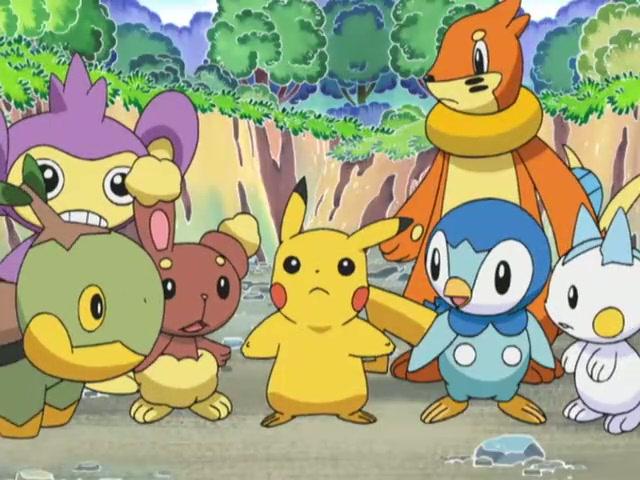 Corto ANA 4 - El club de exploración de Pikachu (Japones)