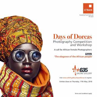 GTBank Art365 Concours de photographie et atelier des jours de Dorcas