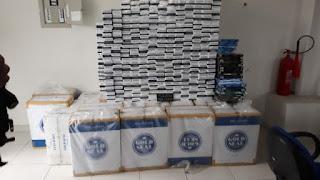 Casal é preso com mais de mil pacotes de cigarros contrabandeados na Paraíba