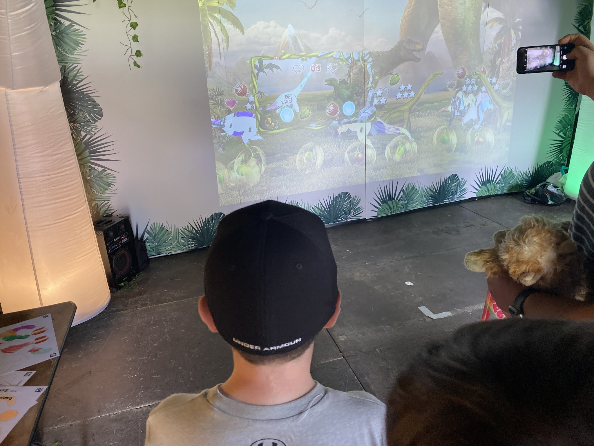 Dinosaur at Dino Kingdom