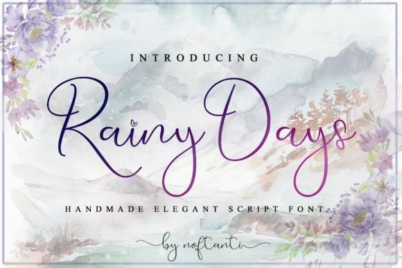 Rainy Days Font