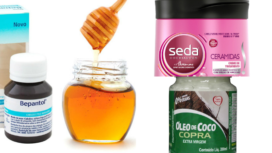 Tratamento com mel para cabelos porosos