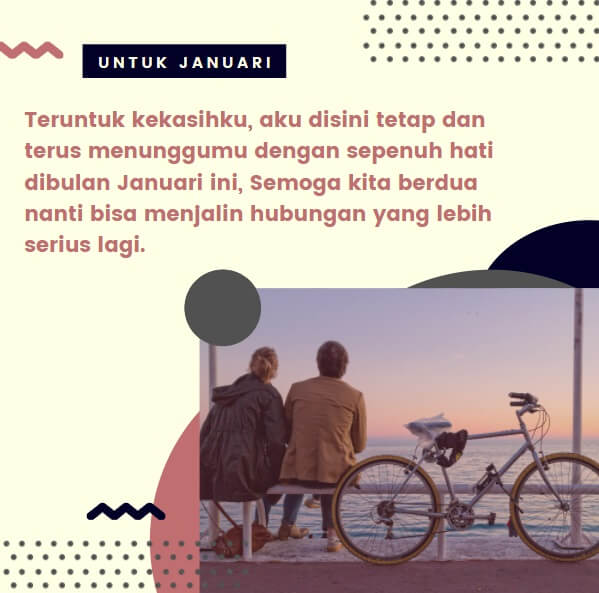 kata kata romantis di bulan januari