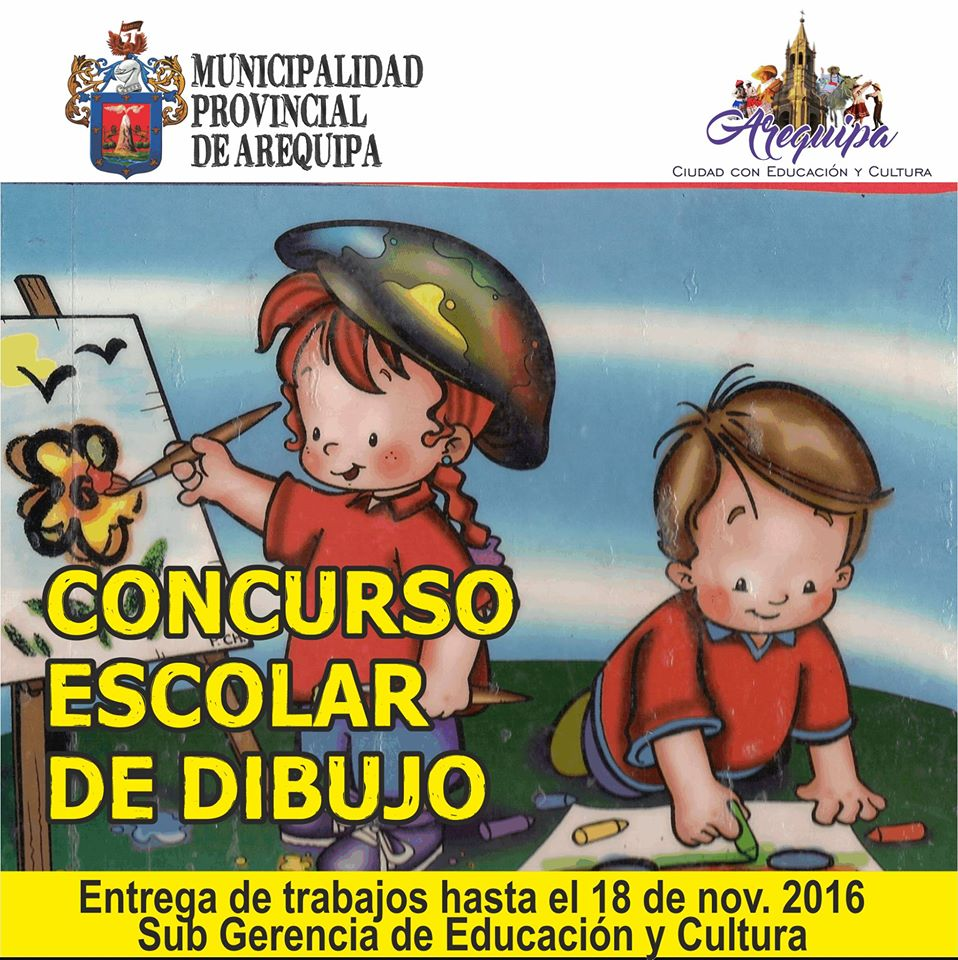 Concursos escolares de peri dicos murales y dibujo ugel for Concurso de plazas docentes 2016
