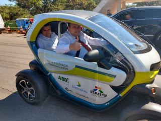 Julio Cesar Ribeiro promove debate sobre a utilização de carros elétricos