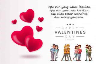 gambar hari valentine lengkap kata kata