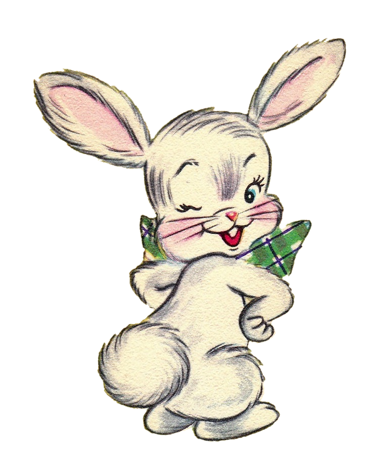 Sweetly Scrapped: *Free* Easter Bunny Graphic and Matching ...
