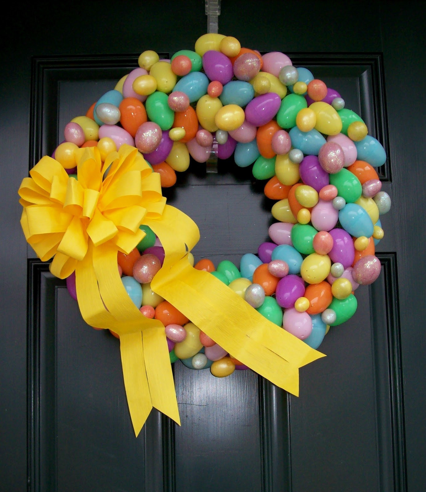 Dejavu*Crafts: 12 SUper CUte Easter Wreaths Ideas