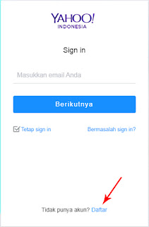 Cara Buat Email Yahoo Indonesia