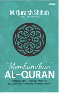 Buku Membukan Alquran karya M. Quraish Shihab