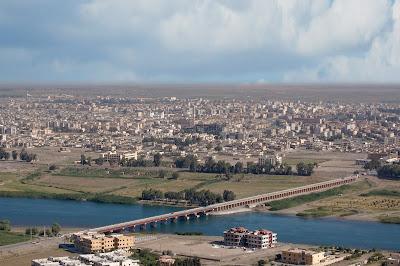 منظر من مدينة الرقة