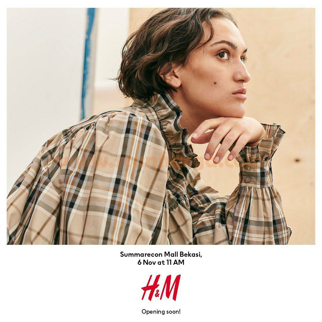 H&M Special Offers - Promo Opening Summarecon Mall Bekasi