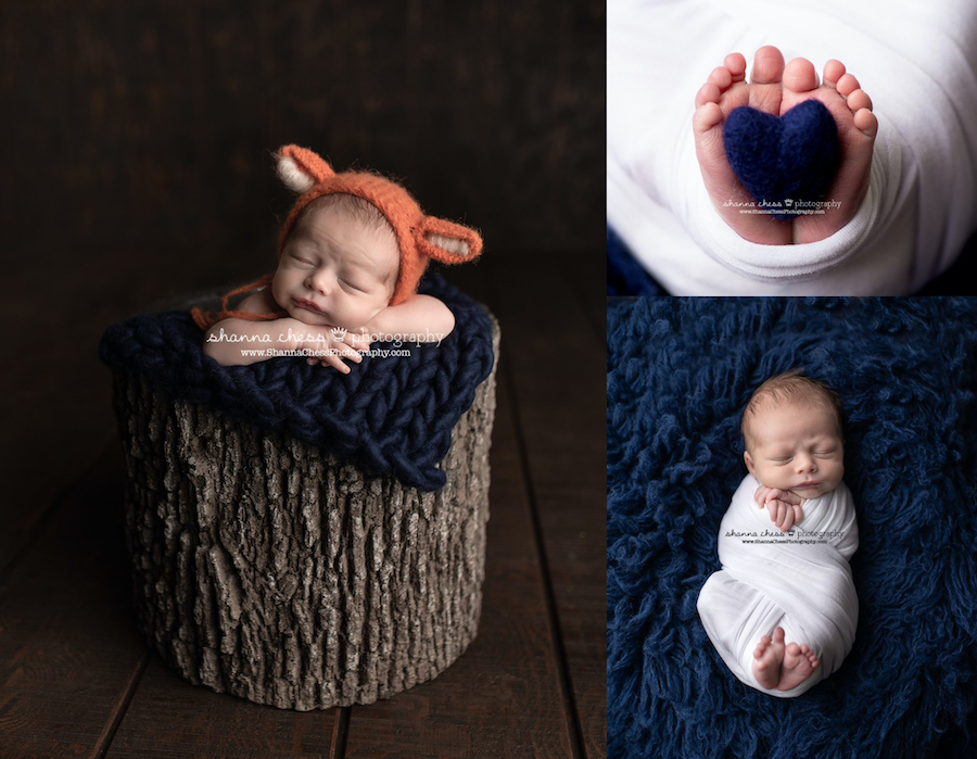 Eugene, Oregon newborn photo studio