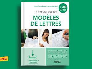 Télécharger : Le grand livre des modèles de lettres en pdf