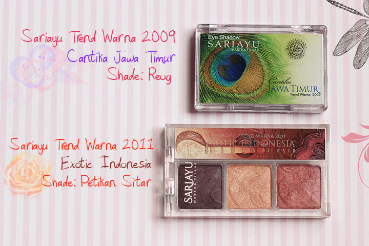Review Trend Warna Eye Shadow Sariayu 2017