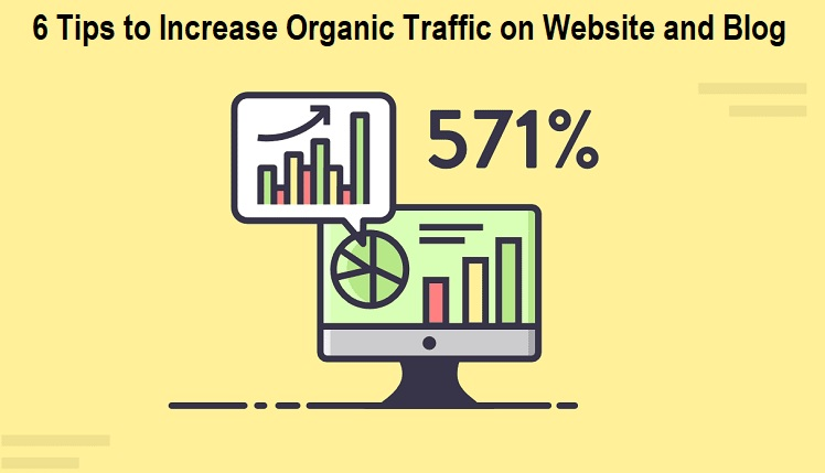 Increase Organic Traffic on Website