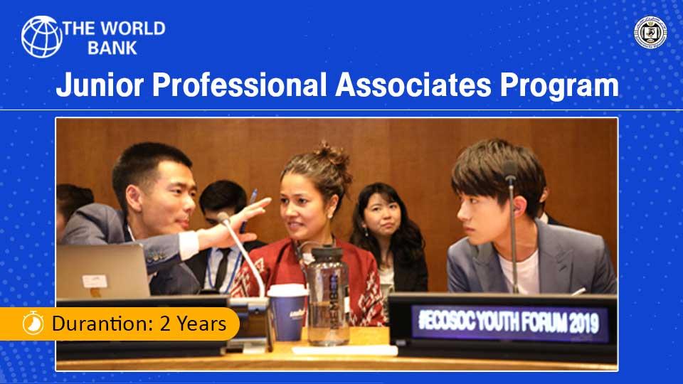 Junior Professional Associates (JPA) Program 2021