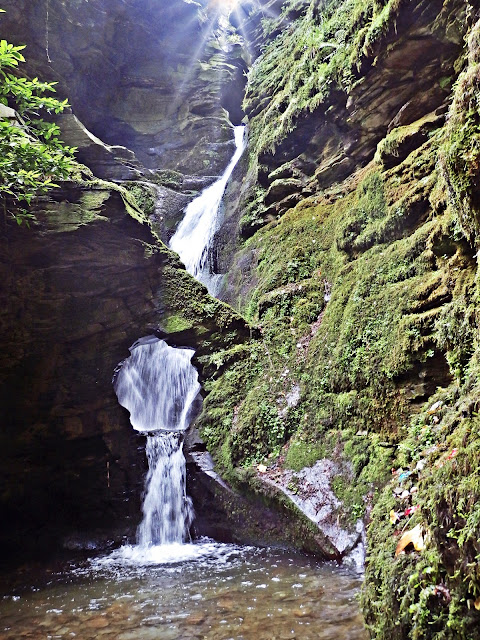 St.Nectan's Kieve and Waterfall, Cornwall
