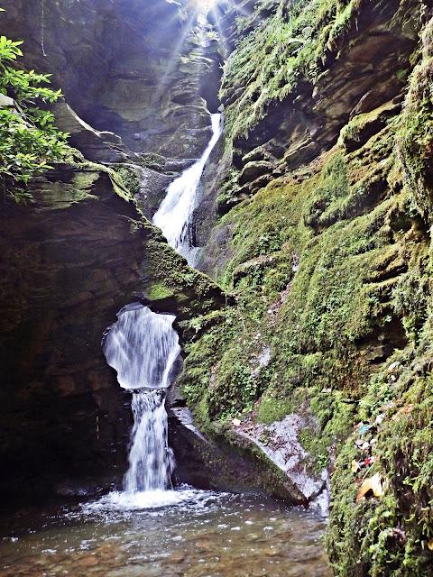 St.Nectan's Kieve and Waterfall, Cornwall