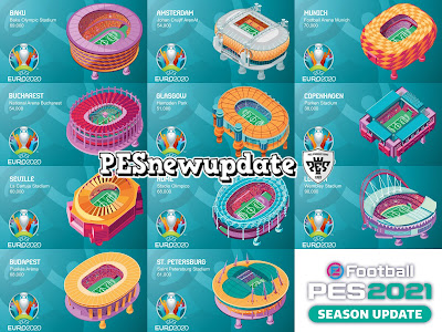 PES 2021 EURO 2020 Stadium Preview by PESNewupdate