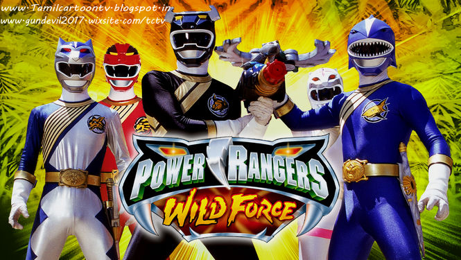 Power Rangers Wild Force Tamil - TamilCartoontv|Download and