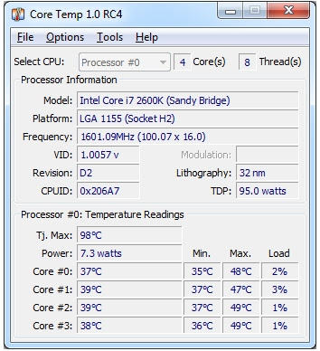 CORE TEMP GRATIS PER WINDOWS 7 8