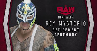 WWE Legend, Rey Mysterio To Retire From Wrestling On Monday Night Raw