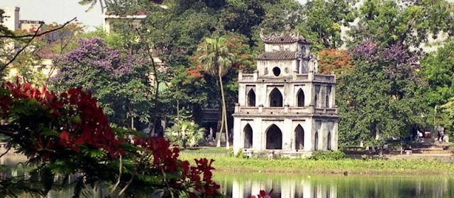 Voyage au Vietnam pour visiter lac de l'Épée restituée