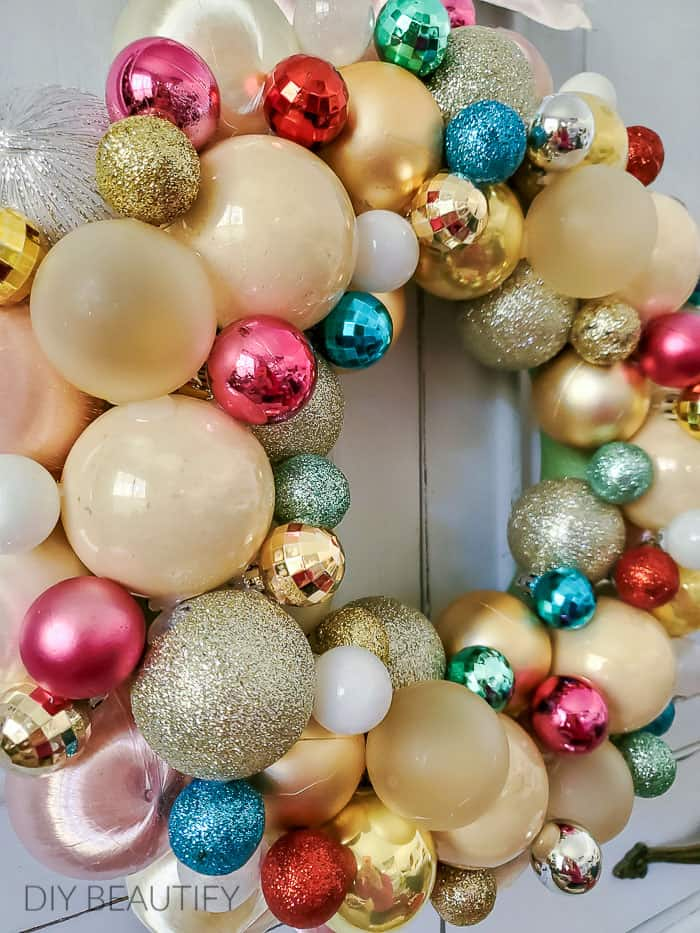 small ornaments fill in gaps