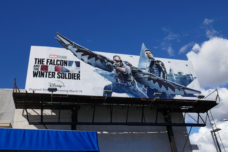 Falcon and Winter Soldier series billboard