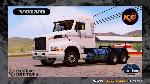 VOLVO NL12 EDC - BRANCO COM FAIXAS ORIGINAIS