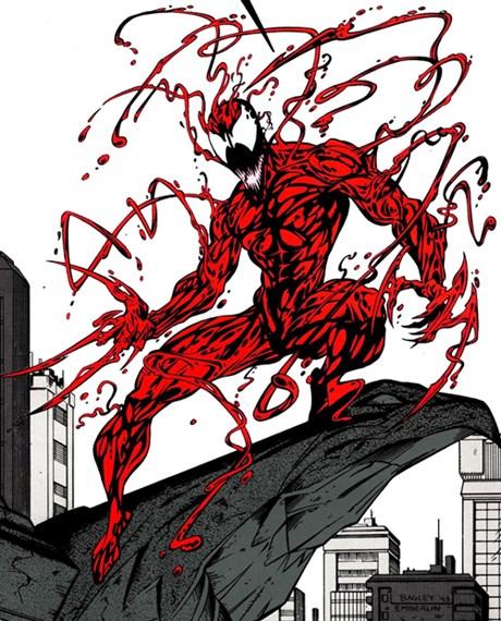 Carnage es el simbionte de Venom más violento