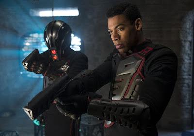Aaron Pierre in Krypton Series