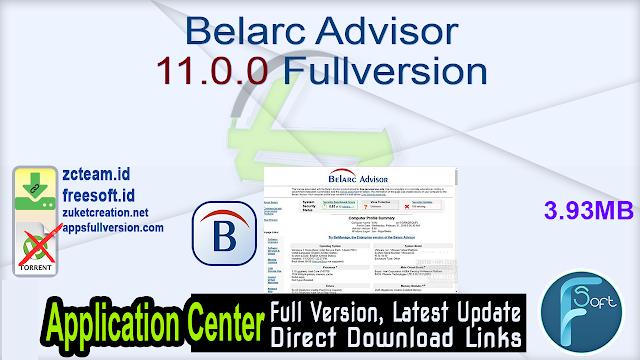 Belarc Advisor 11.0.0 Fullversion