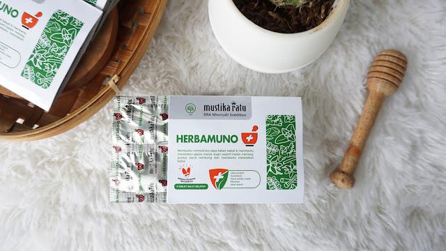 Mengapa Memilih Herbamuno+ by Mustika Ratu