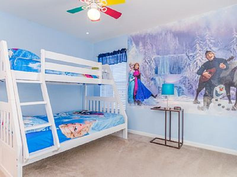 30 Contoh Dekorasi Kamar Tidur Anak Perempuan Bertema Frozen