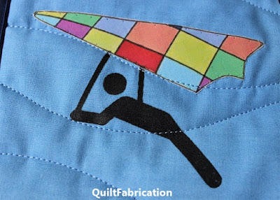 quilted hang glider