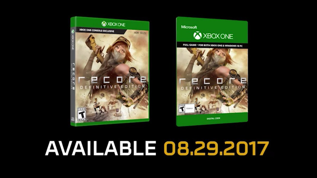 ReCore Definitive Edition se confirma para el 29 de agosto