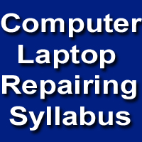 Computer Laptop Repairing Course Syllabus