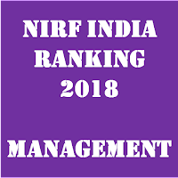 NIRF India Ranking 2018 – Management