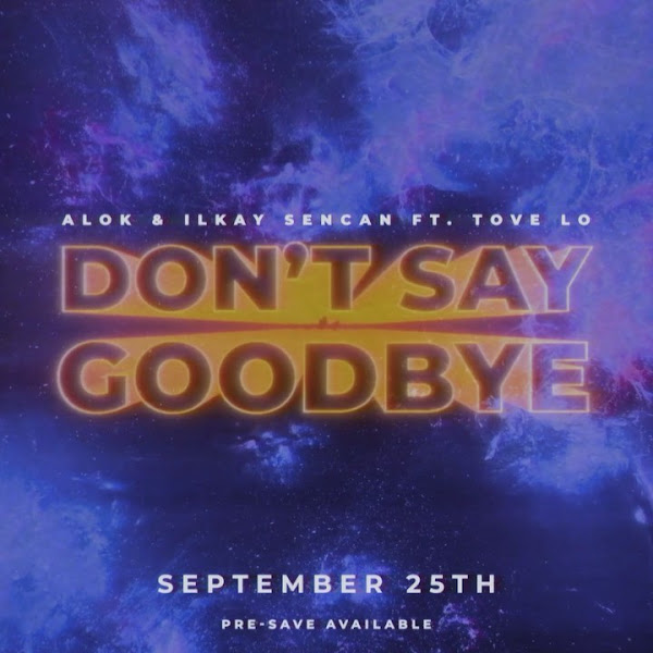 ALOK, TOVE LO - Don't Say Goodbye