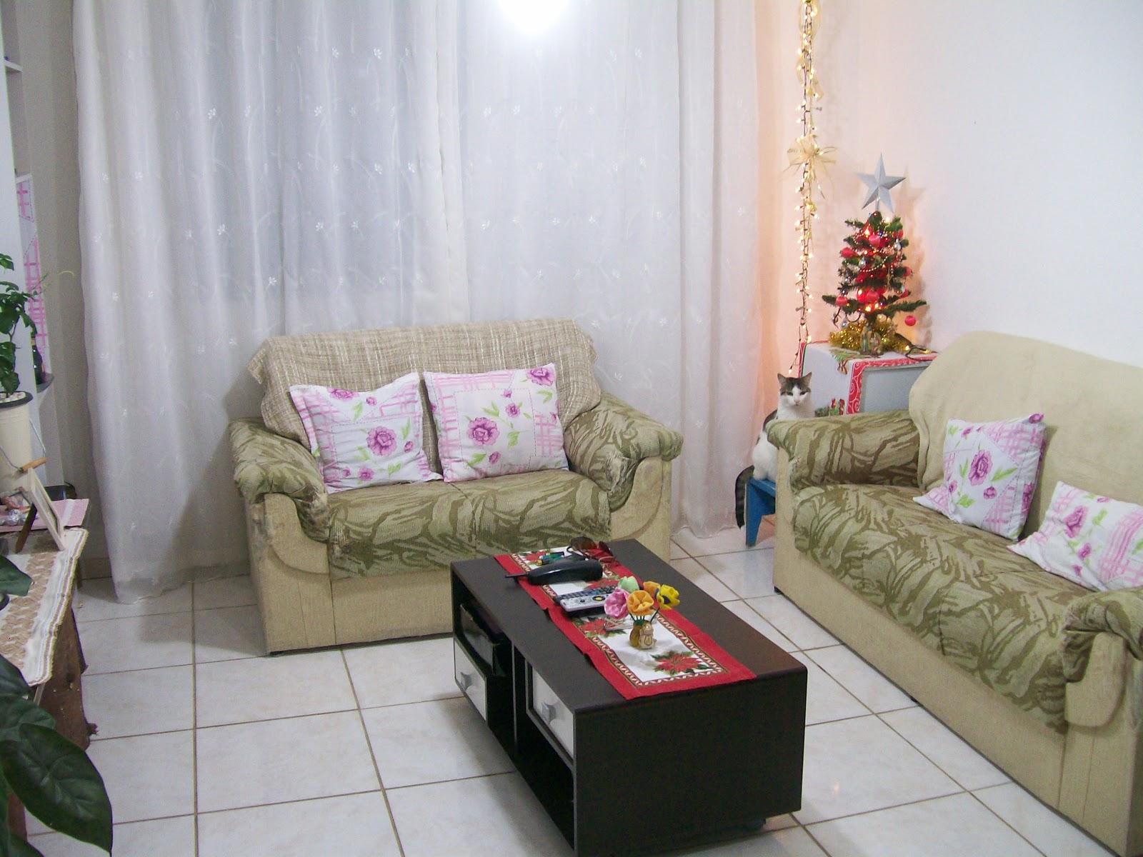 Decora O Sala Sof Novo Parte 1 -> Decoracao De Sala De Estar Pequena Com Sofa De Canto