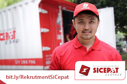Lowongan Kerja SiCepat Ekspres (PT. SiCepat Ekspres Indonesia)
