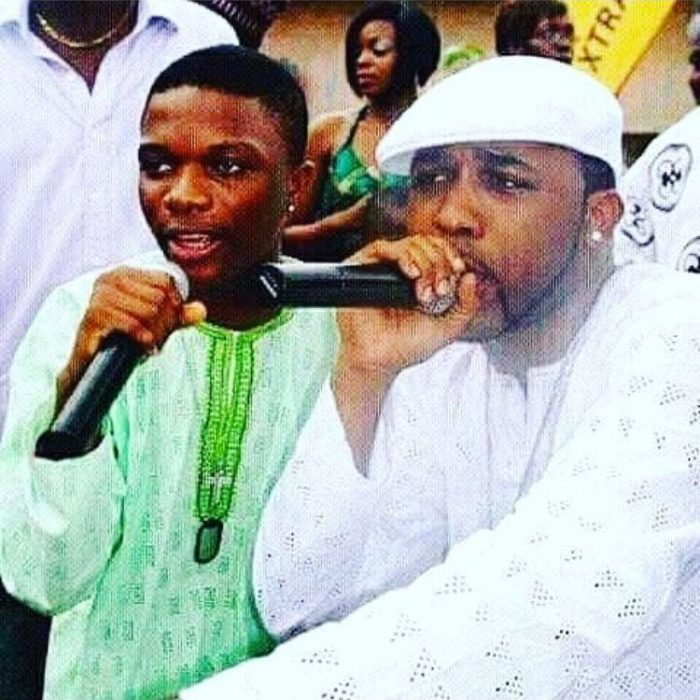 Wizkid cries out as he misses Banky W's wedding