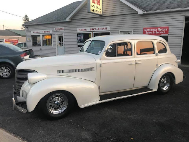 Hot on the Lot: 1939 Chevy Master Sedan, Metamora Herald
