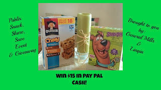 Publix Snack, Share, Save Event & Giveaway