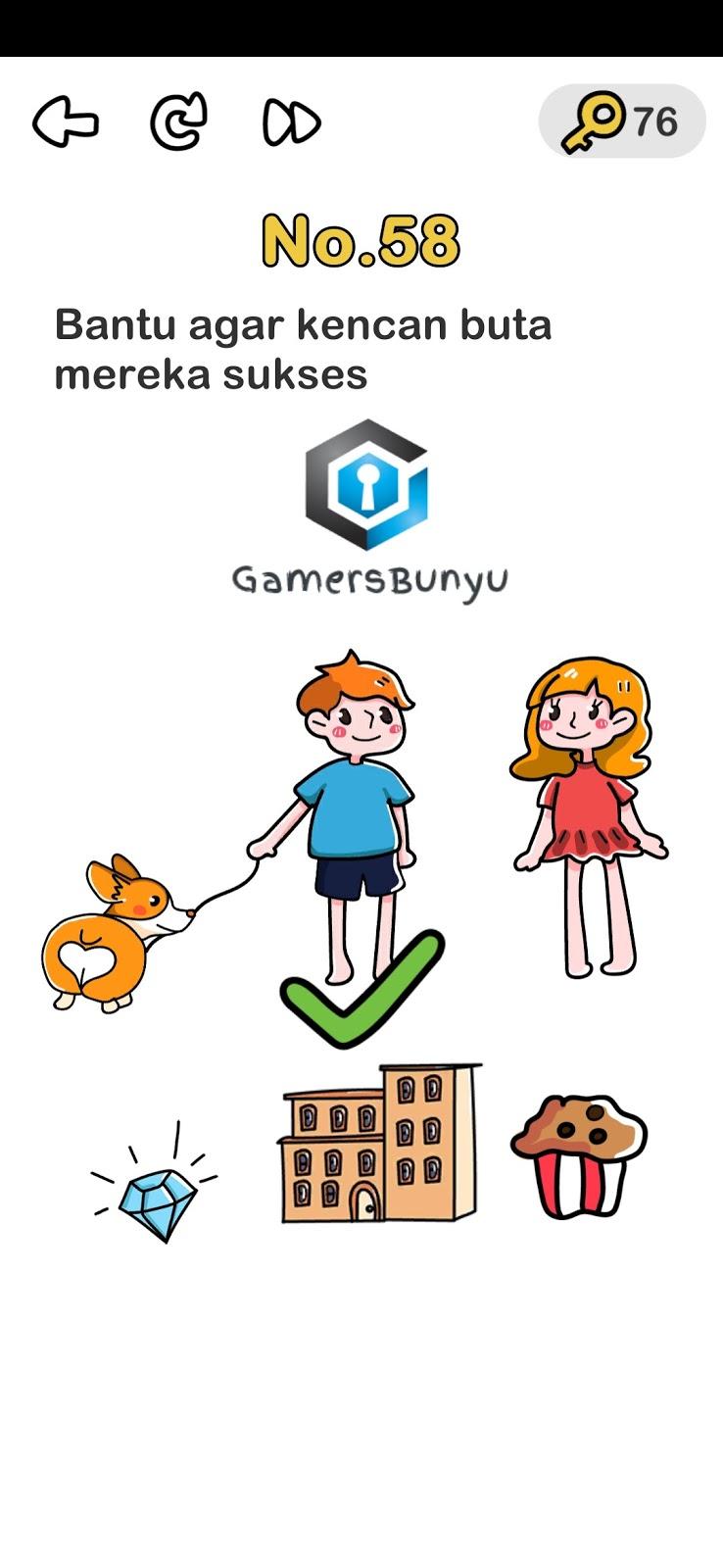 Jawaban Brain Out Level 51 52 53 54 55 56 57 58 59 60 Gamers Bunyu