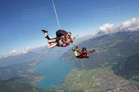 Sky Diving And Photography