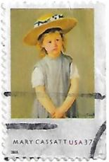 Selo Criança com Chapéu de Palha